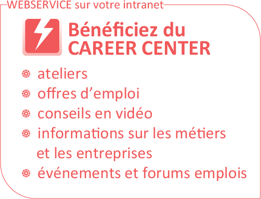 Beneficiez du Career Center